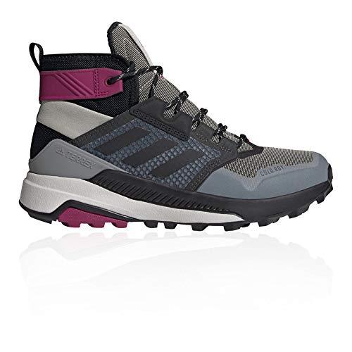 adidas Terrex Trailmaker Mid Crdy W Damen Hikingschuhe, Mehrfarbig - Grimet Negbás Bayint - Größe: 41 1/3 EU