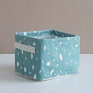N / A Nordique Simple Pliable Bureau Panier de Rangement Nouveaux débris sous-vêtements boîte de Rangement avec poignée Li...