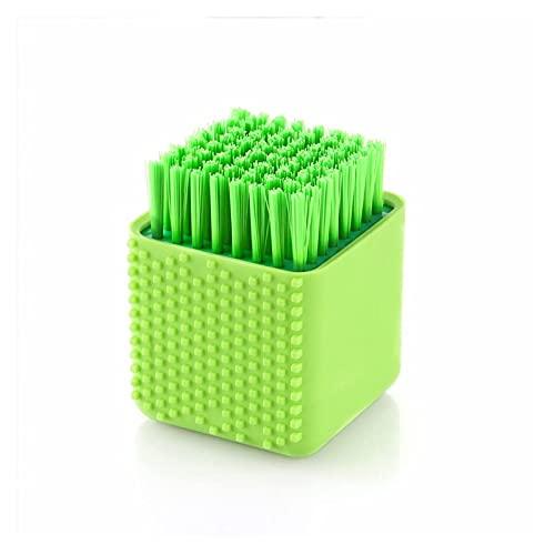 Wäschebürste 1 Stück Silikon-Reinigungsbürste Küchenhelfer zum Waschen von Schüsselbürsten Kleidung Werkzeuge