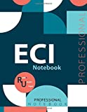 """ECI Notebook, Examination Preparation Notebook, Study writing notebook, Office writing notebook, 140 pages, 8.5"""" x 11"""", Glossy cover"""