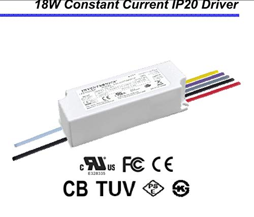 INVENTRONICS (HANGZHOU) LUC-018S050DSP LUC Series 18W 500mA 18Vdc-36Vdc Dimmable Indoor Constant Current LED Driver - 0-10Vdc Dimmable