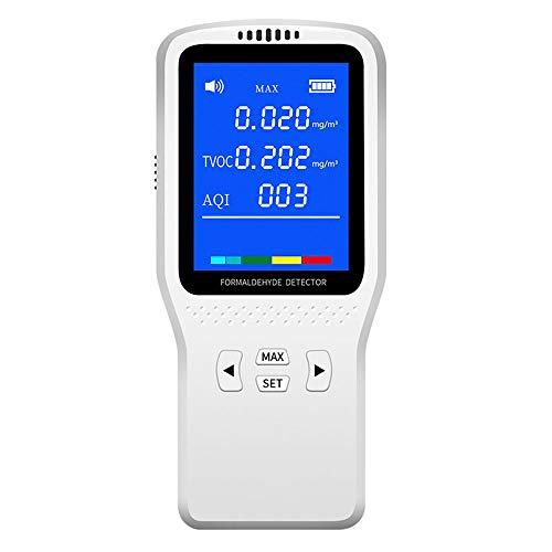 XFHLL Handluftdetektor, Tragbare High Precision Multifunktions-Gas Analyzer Messung Von Temperatur Und Feuchtigkeit Leicht Zu Transportieren, Für Indoor/Haushalt Outdoor-Park Überblick