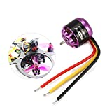 Kongqiabona-UK OCDAY 4 Piezas 1106 7500KV 3-4S Motor sin escobillas para 60 mm 70 mm 80 mm 90 mm 100 mm Mini RC Racing Drone RC FPV Quadcopter