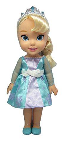 Disney Frozen - 31023 - Poupon - Poupée Reine Des Neiges Elsa 33 Cm