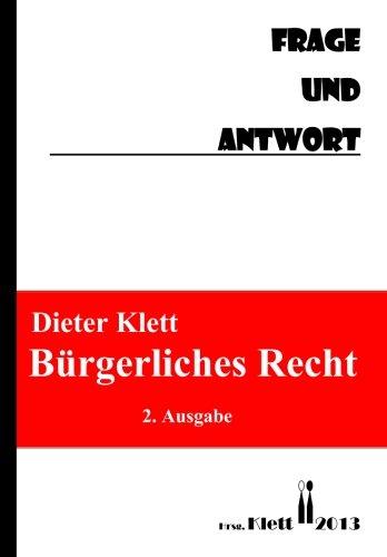 BÜrgerliches Recht Frage und Antwort: Fragenkatalog