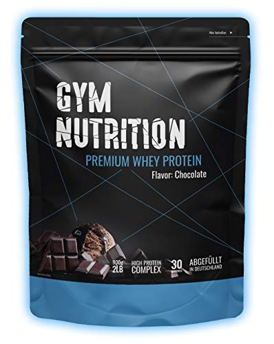 Premium Whey Protein - Eiweiß-pulver - Für Muskelaufbau - Laborgeprüft - In Deutschland abgefüllt - Mit Ernährungsprofis entwickelt - 30 Portionen - Mit EAAs und BCAAs (Delicious Chocolate)