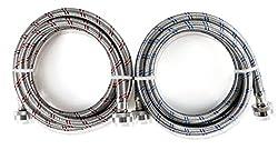 Image of 2-Pack Stainless Steel...: Bestviewsreviews