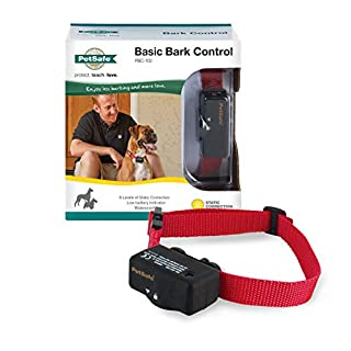 PetSafe Basic Bark Control Collar for Dogs 8 lb. and Up, Anti-Bark Training Device, Waterproof, Static Correction, Canine (B0002C7FHC) | Amazon price tracker / tracking, Amazon price history charts, Amazon price watches, Amazon price drop alerts