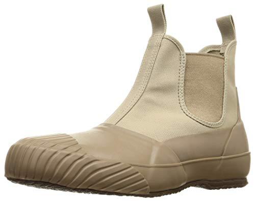 [ムーンスター ライフスタイル] 全天候型ブーツ 国産 バルカナイズ製法 ALW SIDEGOA ベージュ 25 cm 2E