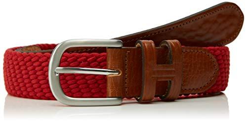 Hackett Parachute Belt 542 Cinturón, Rojo (Red 255), M para Hombre