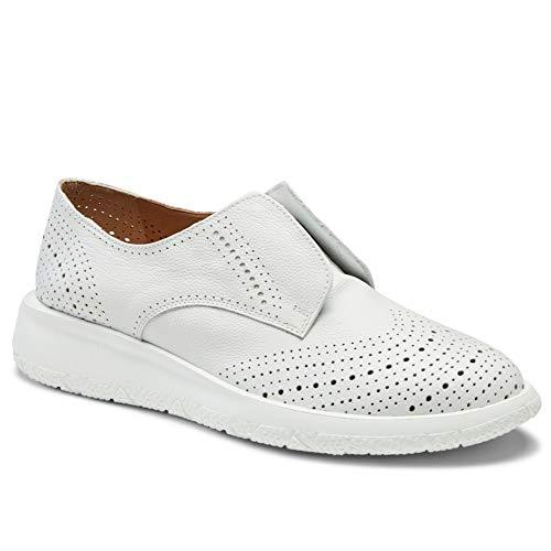 Fratelli Rossetti Dandy Bianca - 76272 PL23759 - Chaussures à enfiler pour femme - Taille - Blanc - Blanc, 38 EU EU