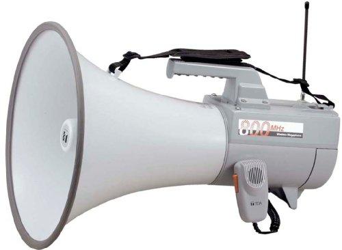 TOA ワイヤレスメガホン 30W ホイッスル音付き ER-2830W