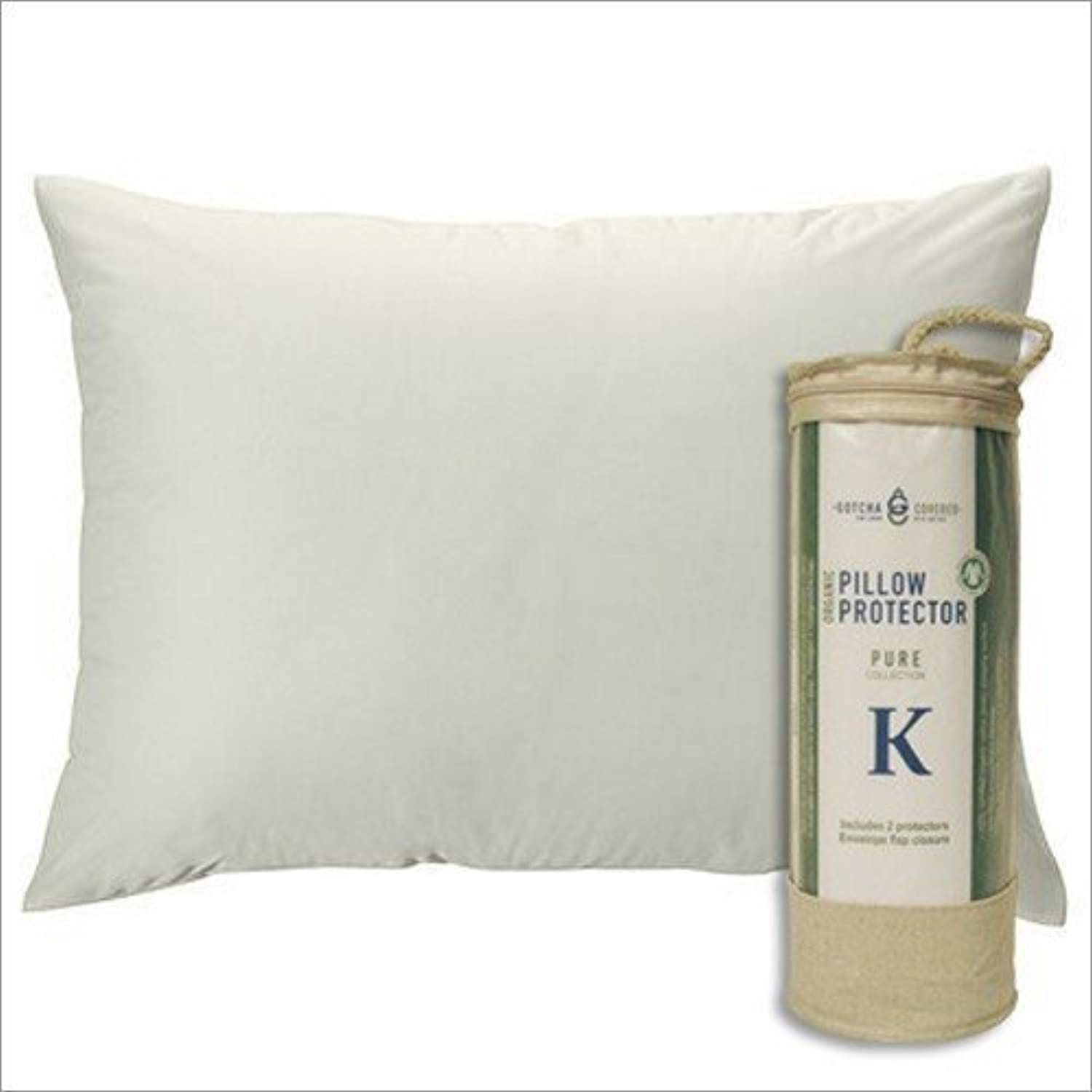 Pure Collection Organic Pillow Predector - King