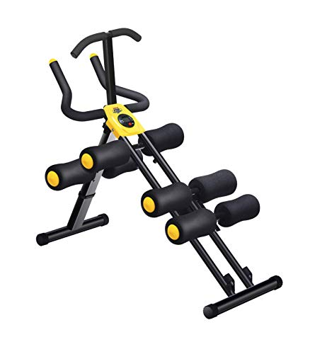 MBB AB Body Robust 12 entrenamientos en 1 diseño ergonómico y 6 niveles de ajuste, banco multifunción para abdominales, pecho, bíceps, cuádriceps y dorsales