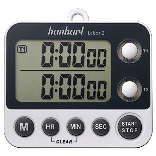 Kurzzeitmesser Stoppuhr Tischstoppuhr Stopuhr Stop Uhr digital inkl. Batterie