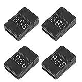 Best Rc Devices - Makerfire 4pcs LiPo Battery CheckerLow Voltage Buzzer Alarm100dB Review