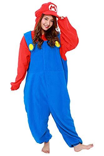 SAZAC(サザック) フリース着ぐるみ スーパーマリオ マリオ