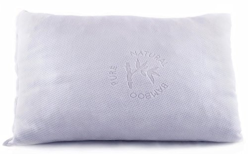 Good Life Essentials Hypoallergenic Shredded Memory Foam Pillow with Bamboo Cover by (King)