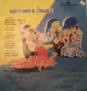 Bailes Y Cantos De Andalucia LP