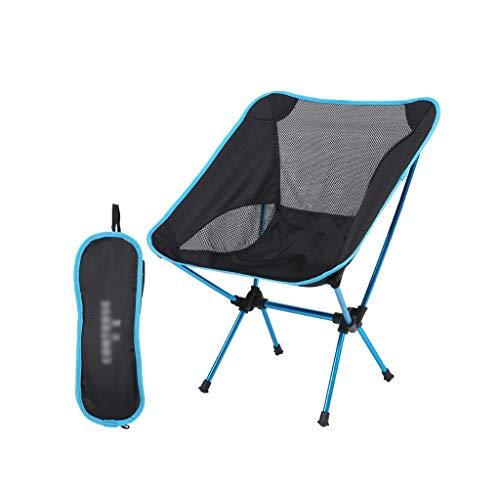 Xwzz Camping Stoel Ultra Light Tuinstoel Vouwstoel Zware Duty 100kg Capaciteit Draagbare Outdoor Stoel met Carry Camping BBQ Beach Rugzak etc