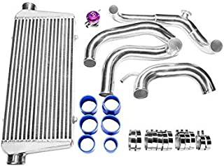 CXRacing FMIC Intercooler Piping Kit For 89-99 Nissan 240SX S13 S14 Chassis with S13 SR20DET Swap + BOV
