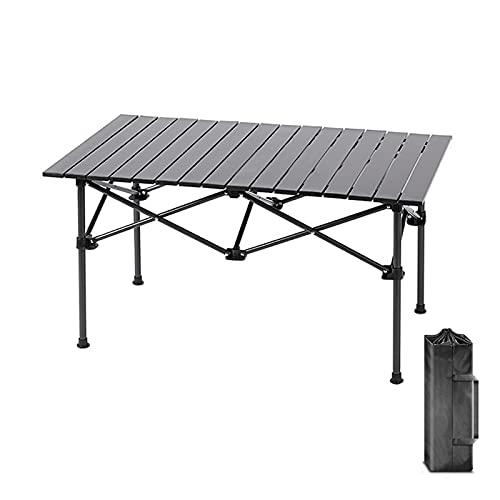 120x55x70 cm Pieghevole Picnic Tavolo Con Borsa Portatile Tavolo Da Campeggio In Lega di Alluminio Desktop In Acciaio Gamba Tavolo