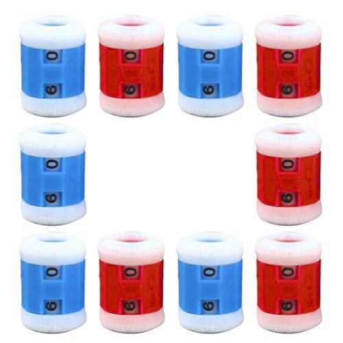 EXCEART 10 Stück Stricken Häkeln Verriegeln Stichmarkierungen Häkeln Stich Nadelzähler (S Größe Zufällige Farbe)