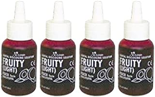 Dental Plaque Disclosing Solution, Strawberry 5ml x4