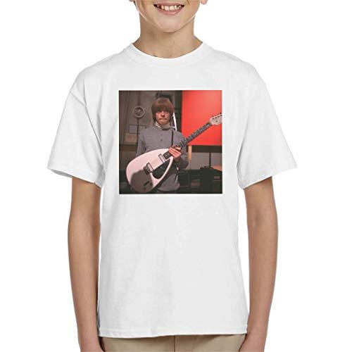 TV Times Brian Jones Vox Gitaar T-shirt voor kinderen