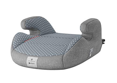 Osann 104-146-401 Junior Isofix bellybutton Kindersitzerhöhung Gruppe 2/3 (15 - 36 kg) Steel Grey