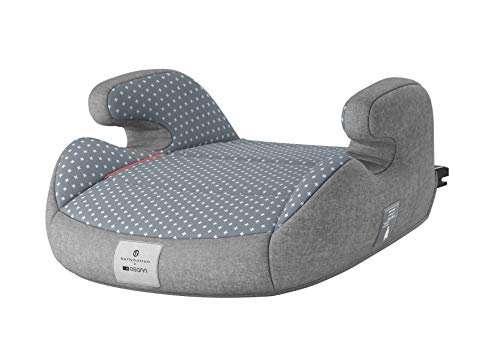Osann 104-146-401 Junior Isofix bellybutton Kindersitzerhöhung Gruppe 2/3 (15 - 36 kg) Steel Grey