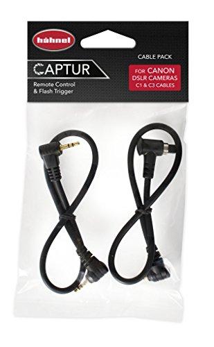 Hähnel Captur Kabel Pack Fernbedienung für Canon, Timer und Pro Modul/Ersatzkabel
