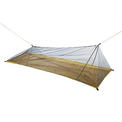 Lixada Camping Moskitonetz Ultralight Robuster Kompakter Mesh Insektennetz Guard Zelt für Freien Trekking Camping