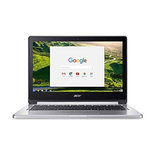 Acer Convertible Chromebook, 13.3 '' FHD IPS Touch, MTK 8173C, 4GB RAM, 64GB eMMC, Chrome OS, Silver, CB5-312T-K3GS