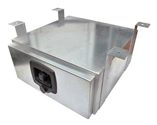MABU gereedschapskist voor aanhangers, verzinkt, 600x300x600 mm
