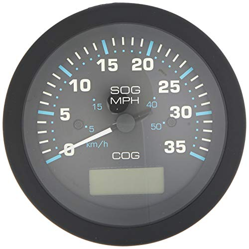 "Sierra International 781-684-035P Scratch Resistant Eclipse Gauge 35 MPH GPS Speedometer, 3"""