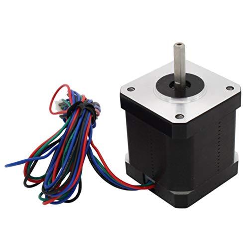 DOITOOL Motor Paso a Paso Profesional de Alto Torque Motor eléctrico Universal Motor extrusor 4 Plomo Piezas de Impresora 3D para Grabado de Impresora 3D