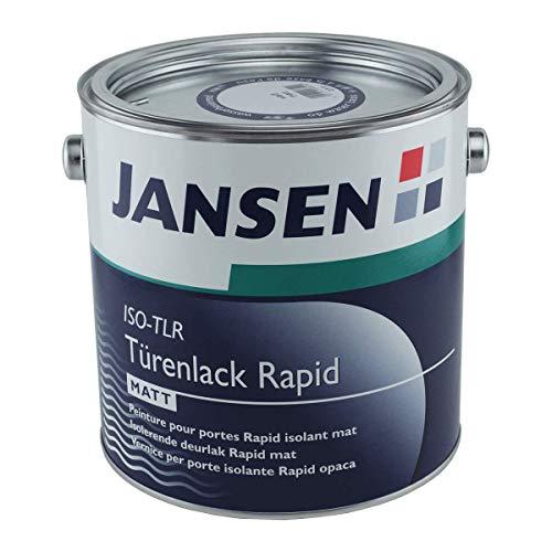 Jansen Mattlack ISO-TLR Türenlack Rapid (2,5 Liter)