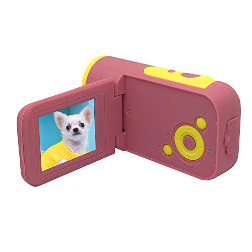 Redxiao 【𝐁𝐥𝐚𝐜𝐤 𝐅𝐫𝐢𝐝𝐚𝒚 𝐃𝐞𝐚𝐥𝐬】 Camcorder, Kamera, Digitalkamera, ABS Mini 4X Digitalzoom für Kinder,(Pink)