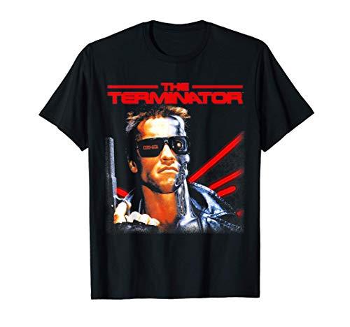 US The Terminator 1984 Movie T-shirt, Black, S to 3XL