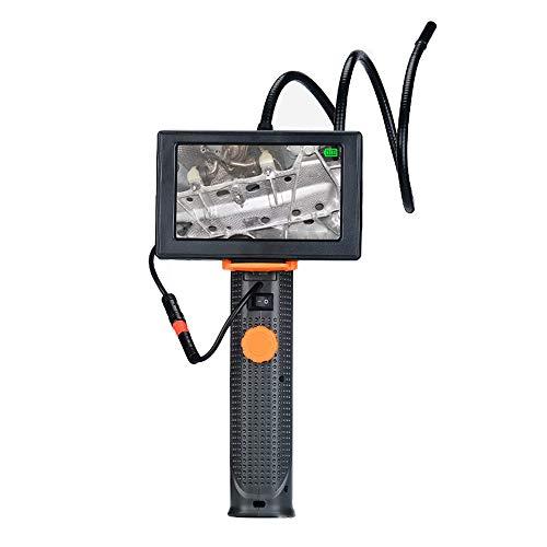 Cámara De Endoscopio De Mano con Pantalla LCD De 4.3 Pulgadas, Boroscopio De 8.5 Mm con 6 Luces LED, Cámara De Serpiente con Linterna LED, IP67 A Prueba De Agua, Plug and Play