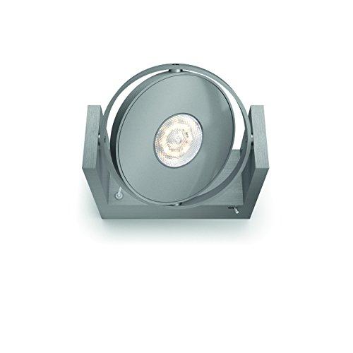 Philips myLiving Particon WarmGlow Spot LED à intensité variable 1 x 4,5 W Lumière LED Installation facile Démarrage instantané Aluminium