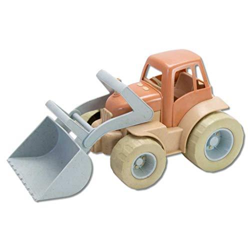 Sandspielzeug-Fahrzeuge, nachhaltig aus Zuckerrohr, BIOplastic | Wiemann Lehrmittel (Traktor)