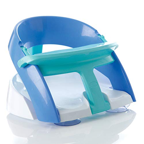 Dreambaby Premium Baby Bath Seat - with Strong Suction Cup Base- Blue - Model G660BB