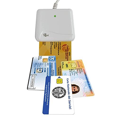 Bit4id ORIGINALE Minilector evo 2.0 RFID, Lettore di Smart Card...