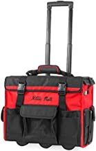 XtremepowerUS Rolling Tool Bag with Wheels Organizer Telescoping Handle 18