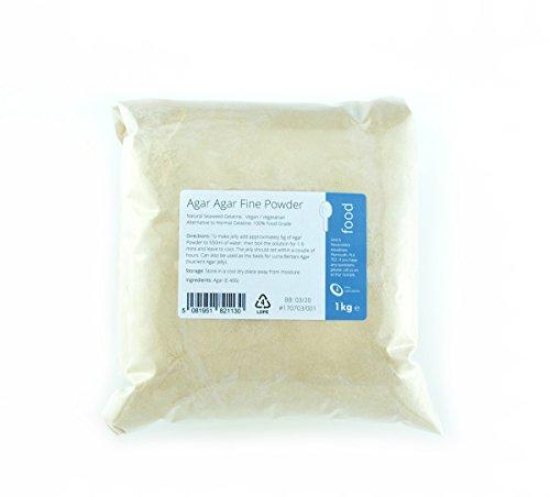 Agar Agar - Polvo fino (1 kg)