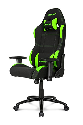 AKRacing Sedia Gaming, Nero/ Verde