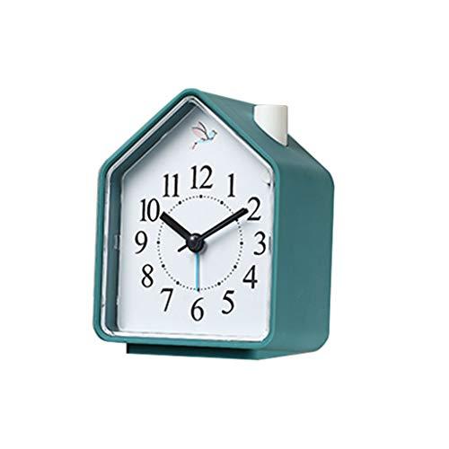 Reloj de mesa El despertador creativo de los niños del sonido natural del despertador de la llamada 3 del despertador, despierta el contador de tiempo ligero del sueño Reloj de decoración de interiors