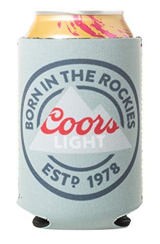 Officially Licensed Coors Light Drink Can Holder Neoprene Beer Huggie Cooler Sleeve (1)